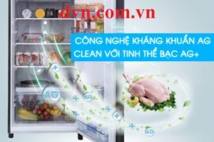 Công nghệ khử mùi kháng khuẩn nổi bật ở dòng tủ lạnh nổi tiếng