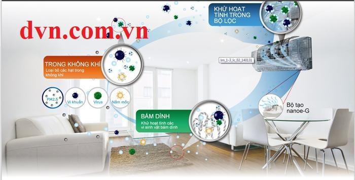Tác dụng của điều hòa có công nghệ kháng khuẩn khử mùi